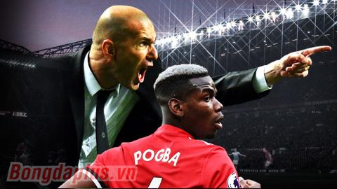 Pogba mơ dưới trướng Zidane ở M.U