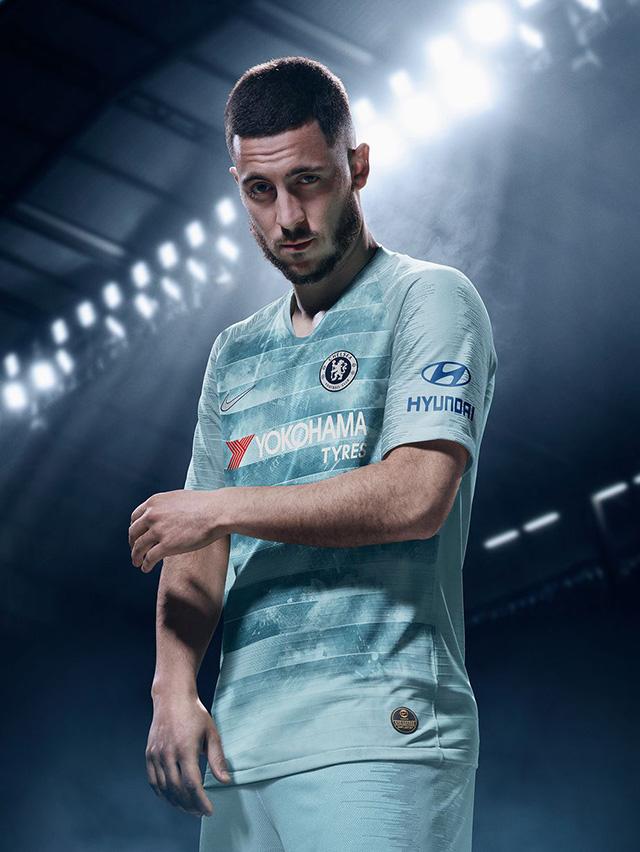 Chelsea sử dụng công nghệ đặc biệt ở áo đấu thứ 3
