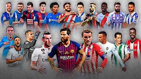 La Liga sau màn khởi động: Barca, Real bứt phá
