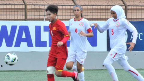 Vòng loại thứ nhất giải U16 nữ châu Á 2019: Quyết chiến vì ngôi đầu
