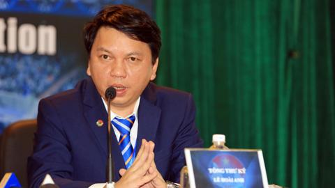 Ông Lê Hoài Anh - Tổng thư ký VFF: 'VFF sẽ cùng các CLB giáo dục cầu thủ trẻ tốt hơn'