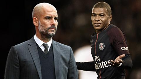 Guardiola: 'Man City không có tiền mua Mbappe'