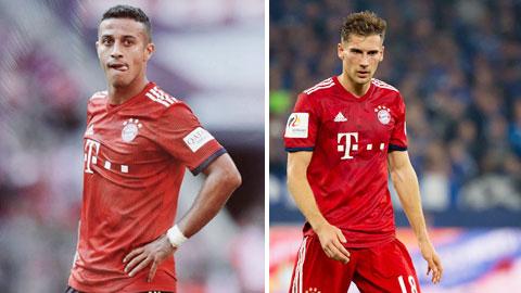 "Bayern: Chờ ""Thiagoretzka"" tái xuất"