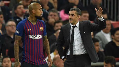 Vidal thừa nhận không hạnh phúc tại Barca