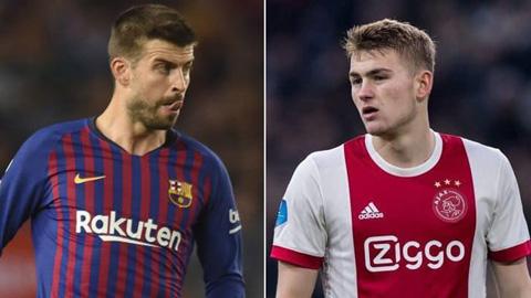 Barca tìm người thay Pique