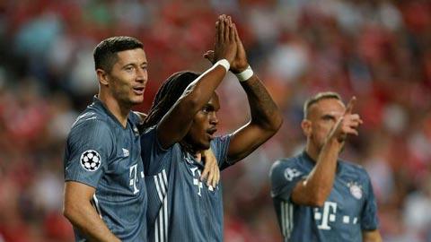 Renato Sanches được bầu là cầu thủ hay nhất tháng ở Bayern