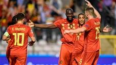 5 điểm nhấn trận Bỉ - Thụy Sĩ: Lukaku lập cú đúp, Barca đau đầu với chấn thương