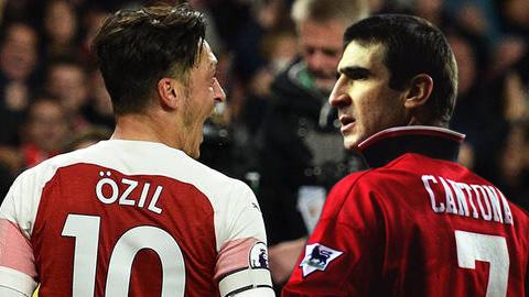 Mesut Oezil đang gợi lại hình bóng Eric Cantona