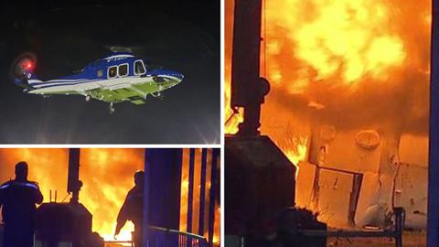 Trực thăng của ông chủ Leicester gặp tai nạn khủng khiếp
