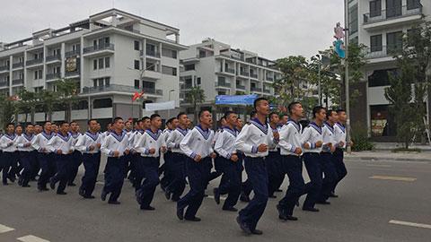 """Lữ đoàn 147 Hải quân, giải nhất cuộc thi """"Cùng sacombank chạy vì sức khỏe cộng đồng"""""""