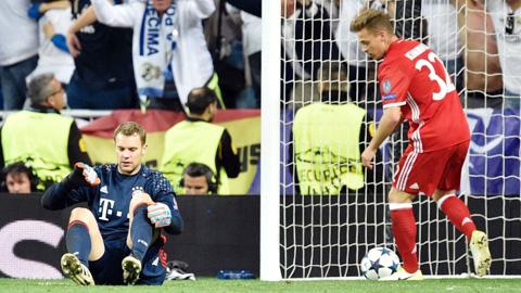 Hàng phòng ngự - vấn đề lớn nhất của Bayern