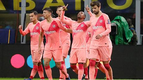 Tổng hợp lượt trận 4 vòng bảng Champions League: Barca giành vé đầu tiên vào knock-out