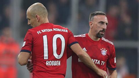 James, Ribery, Robben và Rafinha khó ở lại Bayern