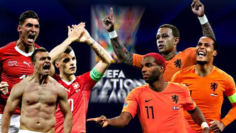 Nhìn lại vòng bảng Nations League: Bất ngờ ở phút cuối