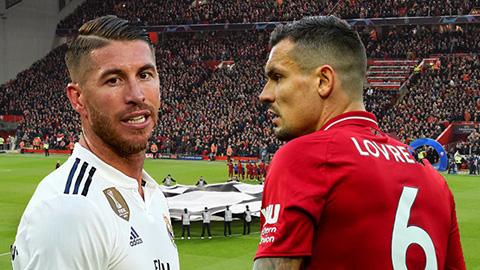 Ramos tiếp tục khiêu chiến Lovren