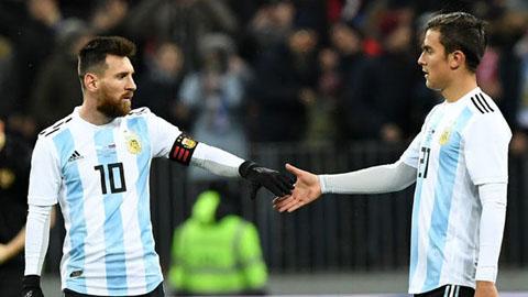 Dybala khẩn thiết mời Messi quay trở lại