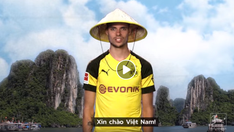 Niềm hy vọng của nước Đức đội nón lá gửi lời chào Việt Nam