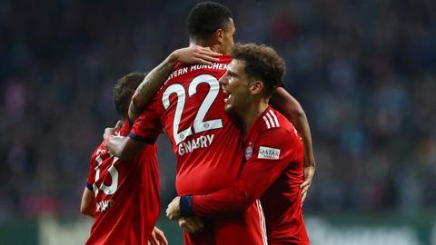 Vòng 13 Bundesliga: Bayern và Dortmund cùng nở nụ cười