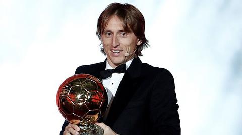 Modric giành Quả bóng vàng 2018