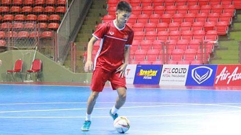 U20 futsal Việt Nam hòa kịch tính với U20 Indonesia