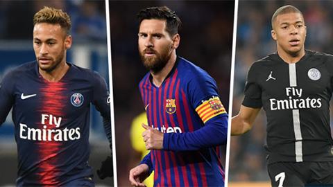 Cuộc đua Chiếc giày Vàng 2018/19: Hat-trick đưa Messi lên vị trí số 1
