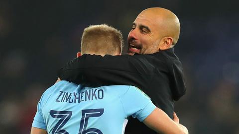Khiến đội nhà thủng lưới, Zinchenko vẫn được Guardiola khen hay nhất trận
