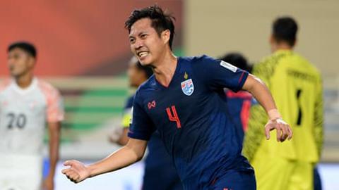 Thái Lan vẫn còn cơ hội vượt qua vòng bảng Asian Cup 2019