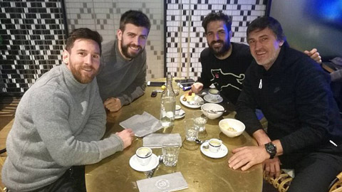 Messi và Fabregas hùn vốn vào CLB của Pique