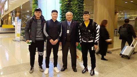 Đình Trọng, Xuân Hưng đã có mặt tại Hàn Quốc chuẩn bị phẫu thuật