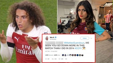 Thua trận, sao Arsenal còn bị cựu diễn viên khiêm dâm xỉa xói