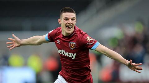 Declan Rice: Sao trẻ hạ gục Arsenal và hành trình tiếp bước ...