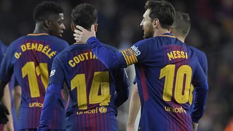 Barca là đội xông xênh với cầu thủ nhất
