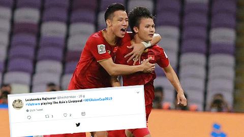 ĐT Việt Nam được ví như Liverpool của châu Á