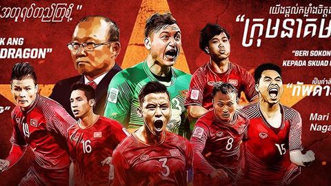 ĐT Việt Nam: Chàng tí hon giữa những gã khổng lồ châu Á