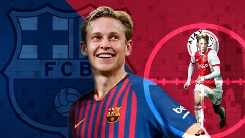 Chi 75 triệu euro, Barca mua xong De Jong