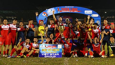 Đánh bại Quảng Nam, Than.QN vô địch Thiên Long Cup 2019