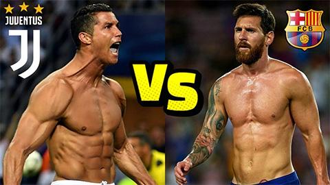 Messi đá thế nào so với kình địch Ronaldo mùa này?