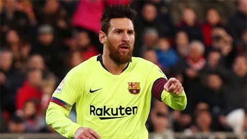 Messi tiếp tục dẫn đầu ở cuộc đua Chiếc giày vàng
