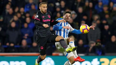 VIDEO: Huddersfield 0-1 Everton