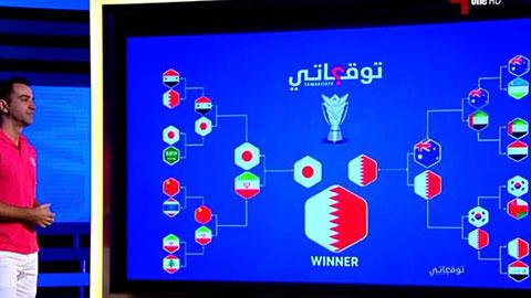 Xavi dự đoán chính xác cặp Nhật - Qatar đá chung kết Asian Cup