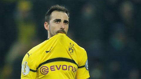 Dortmund bị loại đầy đau đớn ở vòng 3 Cúp QG Đức