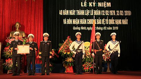 Lữ đoàn 170 kỷ niệm 40 năm thành lập và đón nhận Huân chương Bảo vệ Tổ quốc hạng Nhất