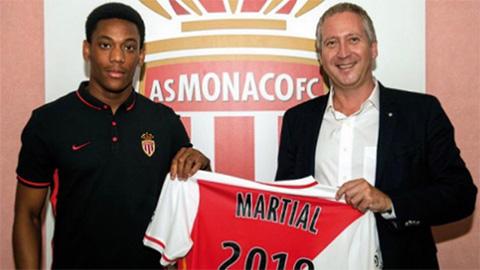 Martial bất ngờ đăng ảnh khoác áo Monaco