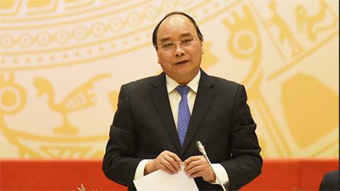 Thủ tướng Nguyễn Xuân Phúc động viên U22 Việt Nam