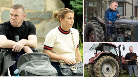 Rooney ôm mộng làm… nông dân