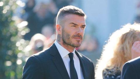 Beckham dẫn đầu 'thế hệ 92' đến tiễn đưa ông thầy đầu tiên