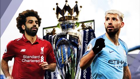 Phong độ của Salah & Aguero nắm chìa khóa vô địch Ngoại hạng Anh