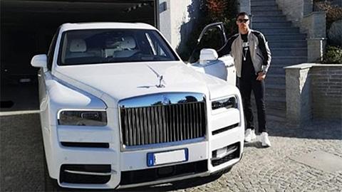 Hưởng lương cao nhất Serie A, Ronaldo tậu 'quái thú' 330.000 bảng