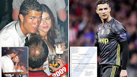 Ronaldo né lệnh triệu tập từ tòa án Las Vegas