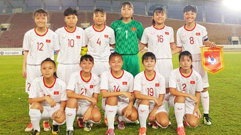 U16 nữ Việt Nam gặp khó tại vòng loại thứ 2 U16 nữ châu Á